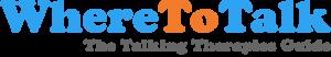 WhereToTalk Talking Therapies Guide Logo