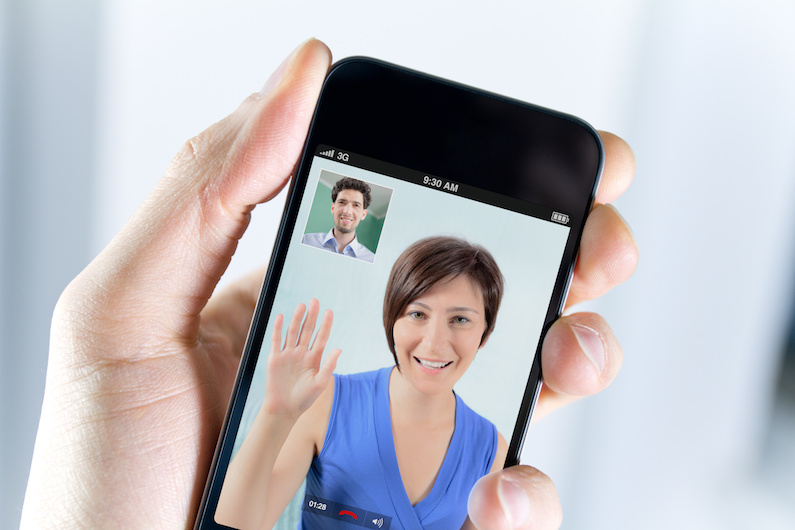 Video Call on a Mobile